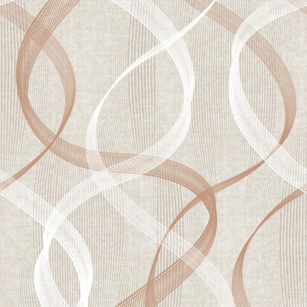 Papel de Parede Abstrato Ondulado