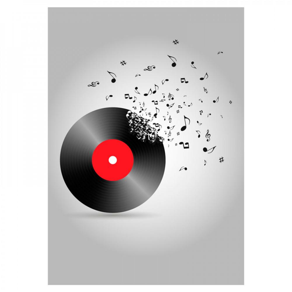 Quadro Decorativo Vinil Musical