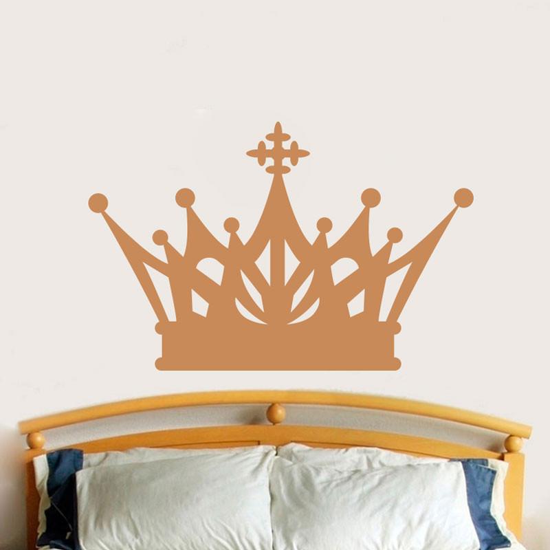 Adesivo Decorativo de Parede Coroa
