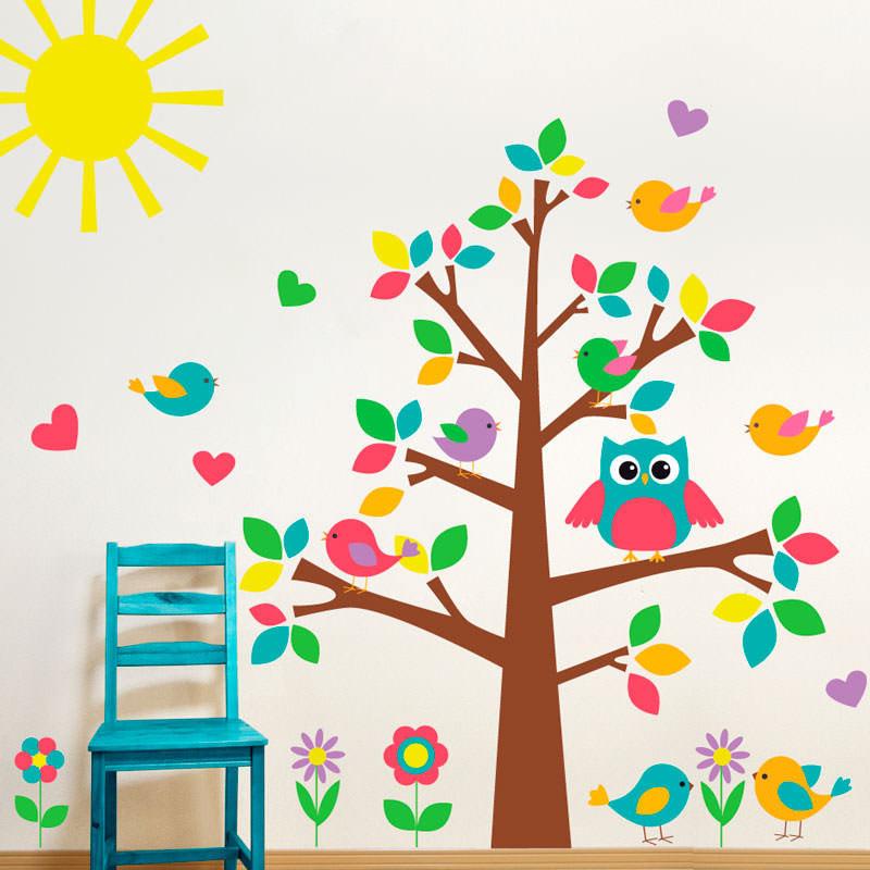 Adesivo Decorativo Árvore Infantil