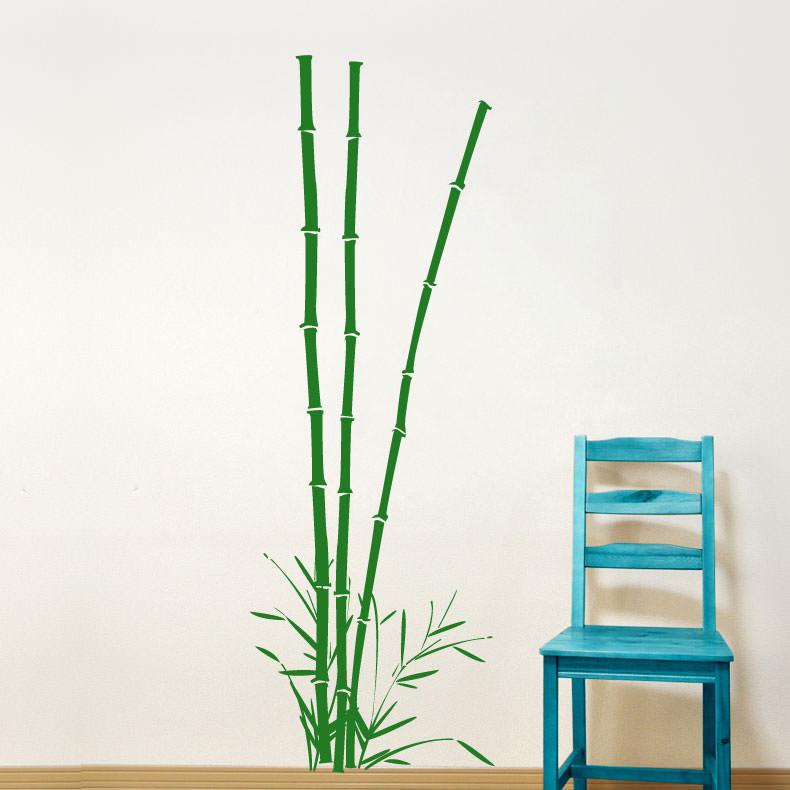 Adesivo Para Parede Bambu Imperial