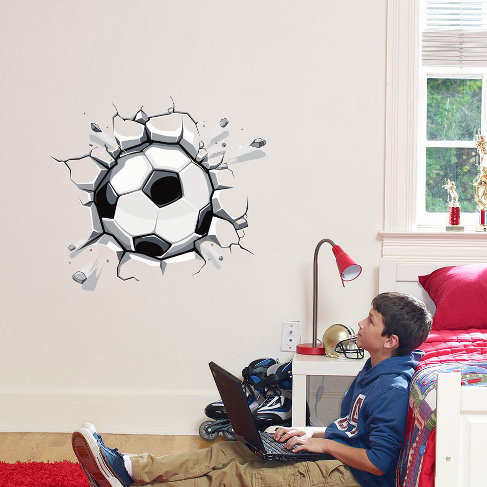 Adesivo de Parede Bola de Futebol