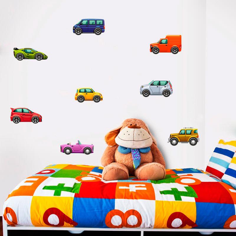 Adesivo de Parede Infantil Carros