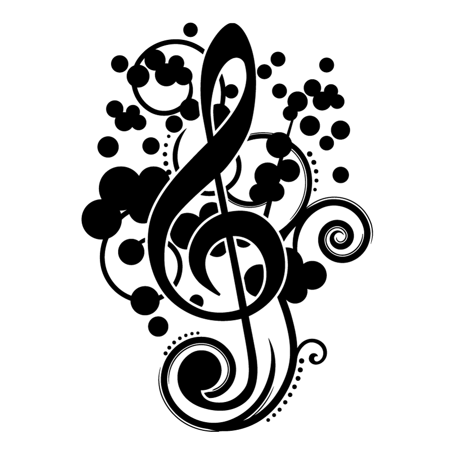 Adesivo de Parede Clave de Sol