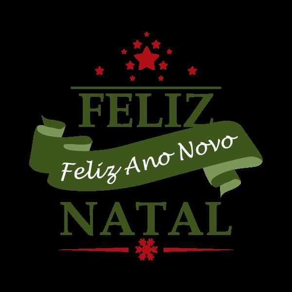 Adesivo de Parede Decorativo Faixa Feliz Natal e Ano Novo
