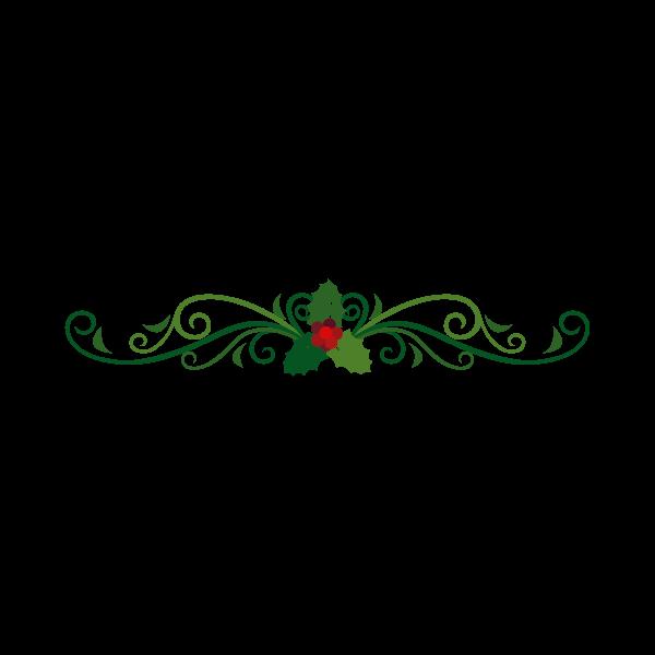 Adesivo de Parede Festão Natalino