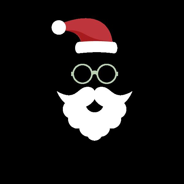 Adesivo de Parede Decorativo Natal Ho Ho Ho