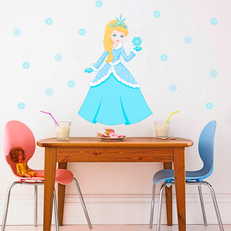 Adesivo Decorativo Princesa do Gelo