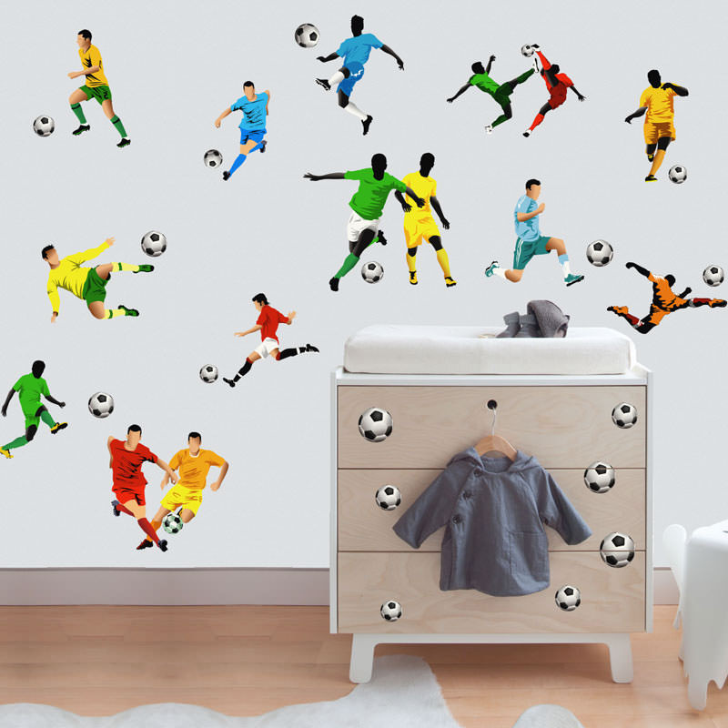 Adesivo Decorativo Futebol II