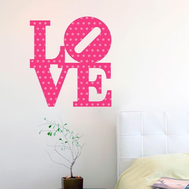 Adesivo Decorativo de Parede Love II