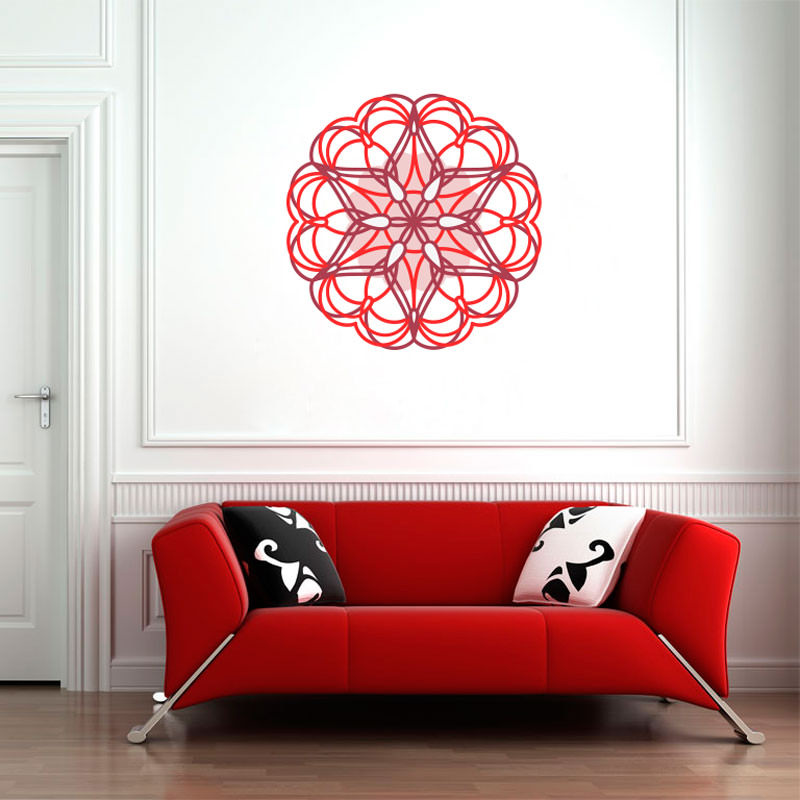 Adesivo Mandala Colorida