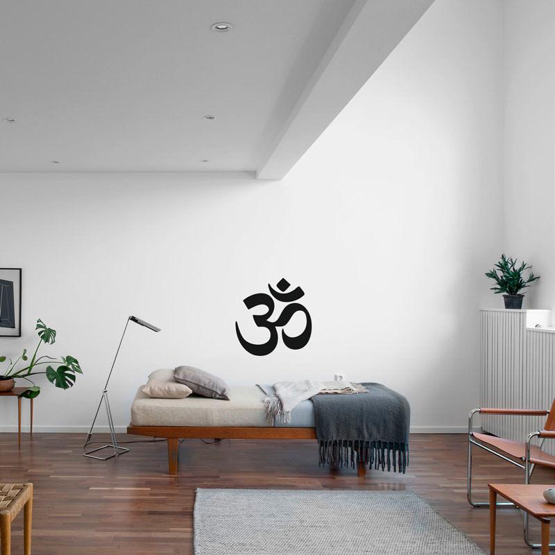 Adesivo Decorativo Mantra OM (Aum)