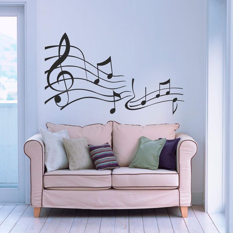 Adesivo de Parede Musical Harmonia