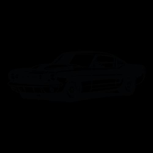 Adesivo de Parede Mustang Antigo