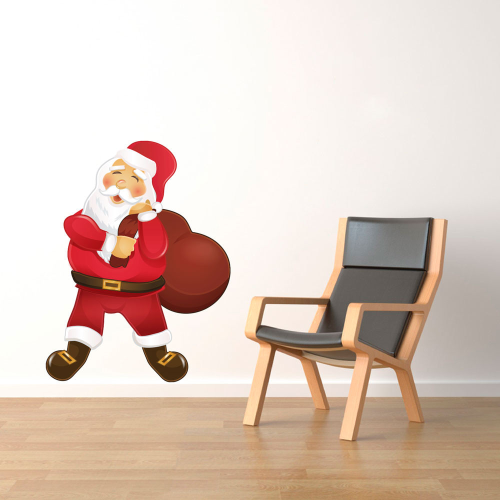 Adesivo Decorativo Papai Noel