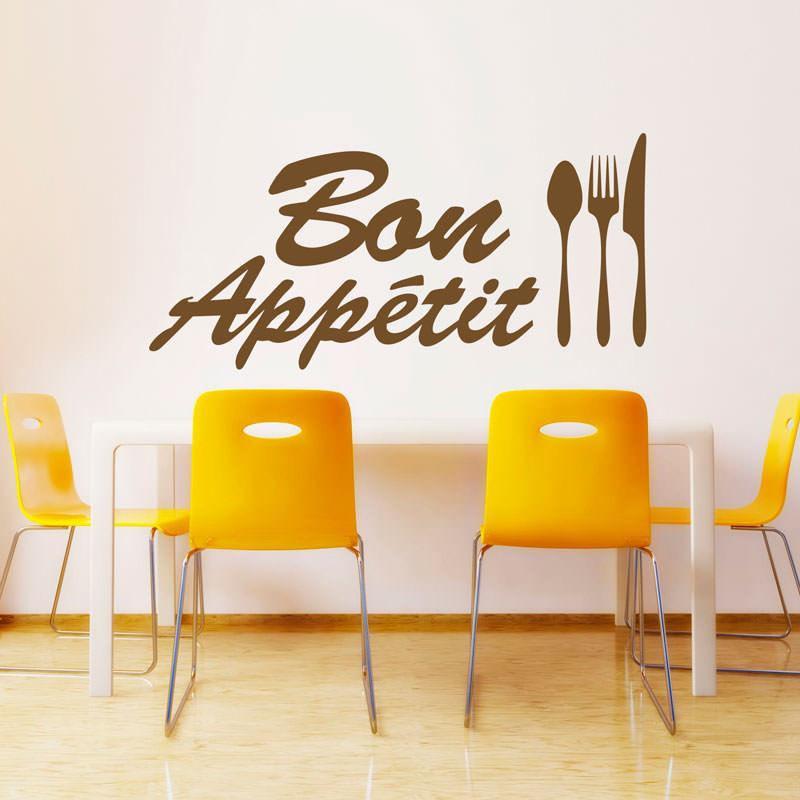 Adesivo Decorativo Bon Appétit