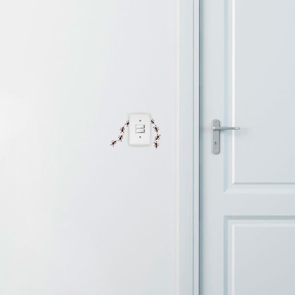 Adesivo Decorativo para Interruptor Formiguinha