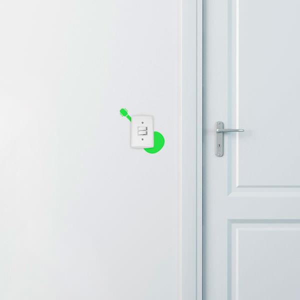 Adesivo de Parede para Interruptor Violão