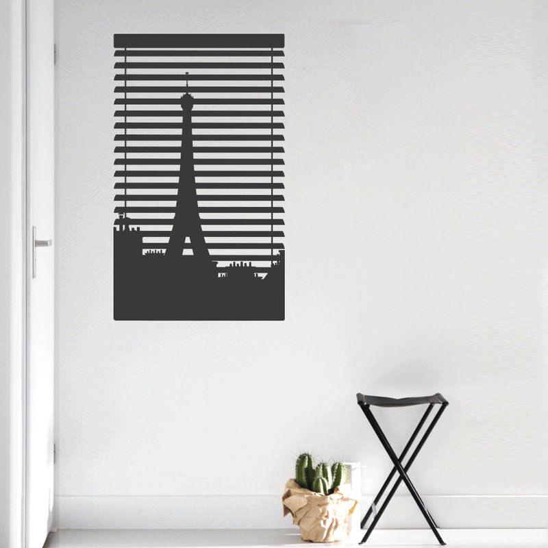 Adesivo Decorativo Persiana Paris