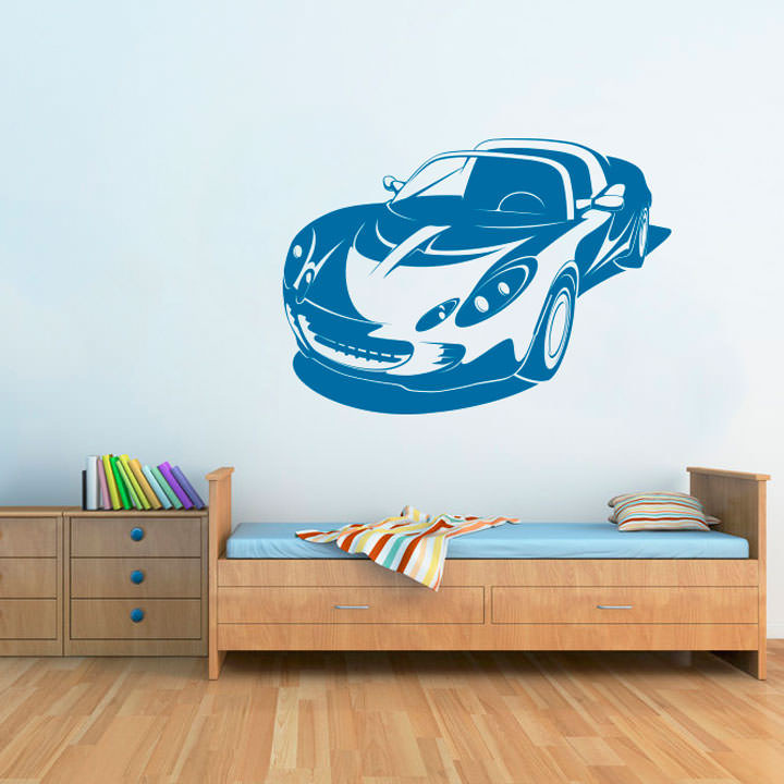 Adesivo de Parede Porsche