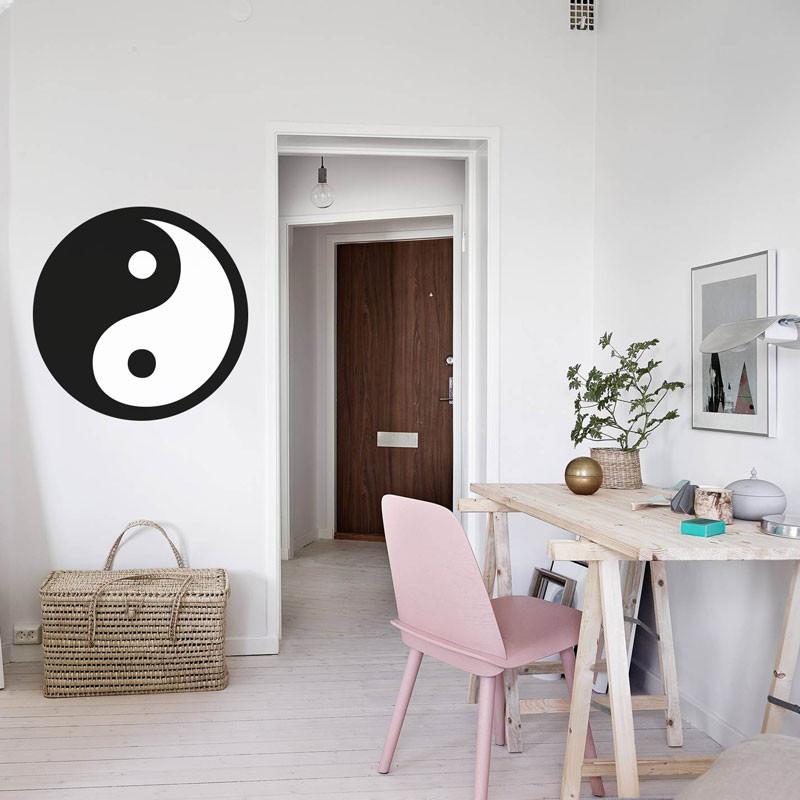 Adesivo Decorativo Yin Yang
