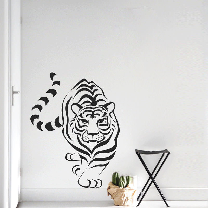 Adesivo de Parede Tigre