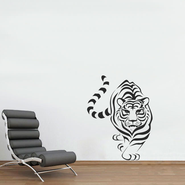 Adesivo de Parede Decorativo Tigre