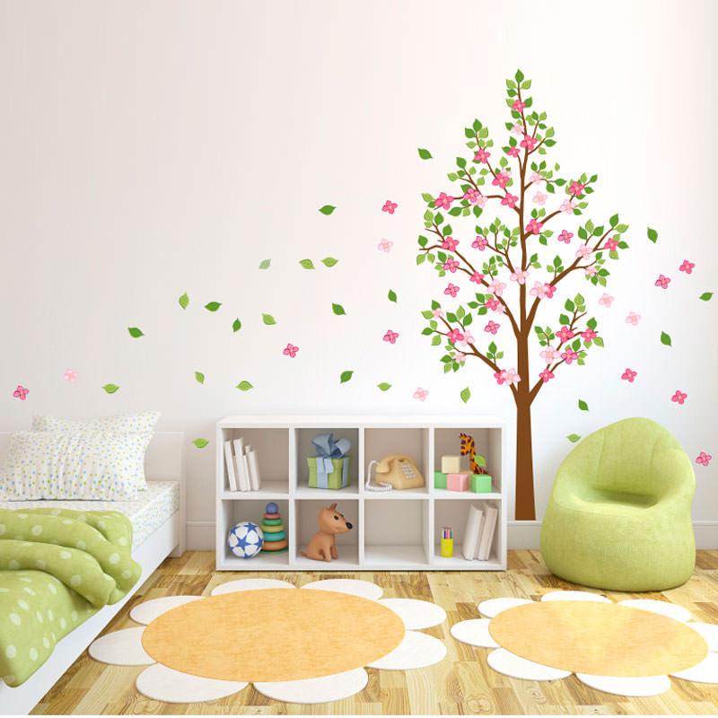 Adesivo Decorativo Árvore Colorida