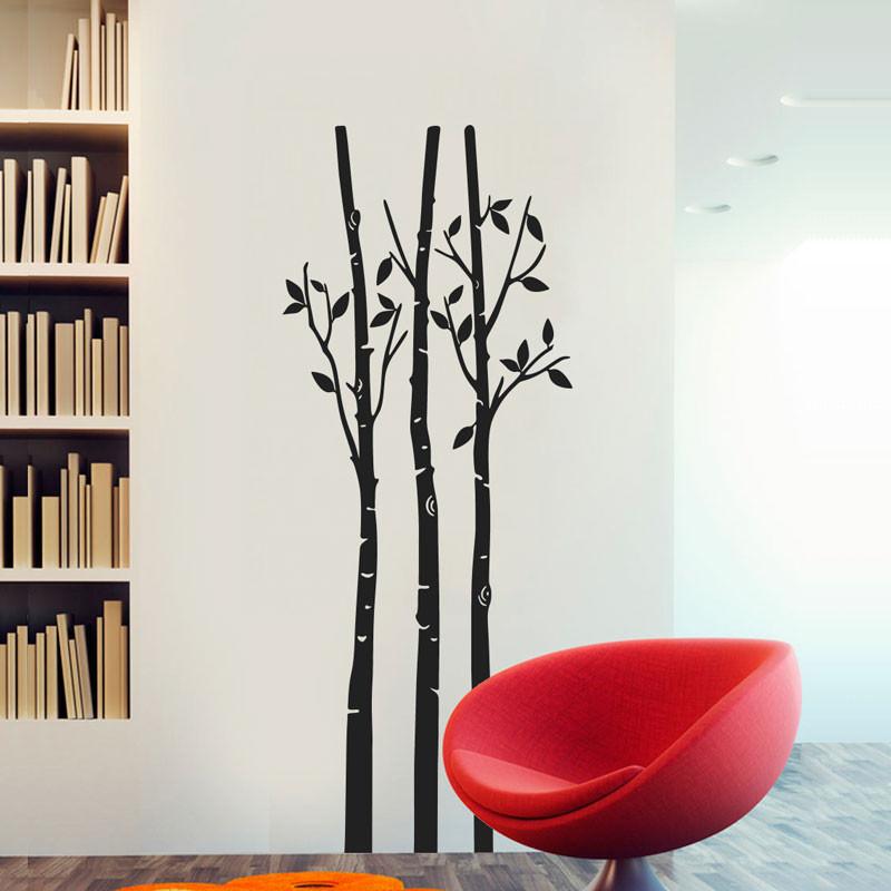 Adesivo Decorativo de Parede Árvore Sakura