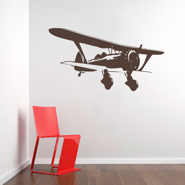 Adesivo Decorativo Avião
