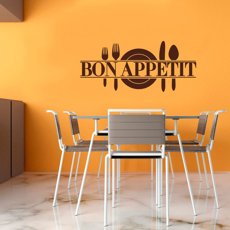Adesivo de Parede Bon Appétit II