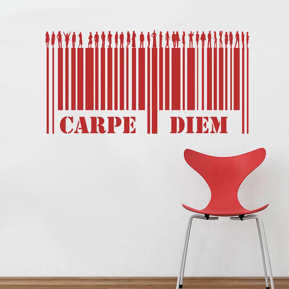 Adesivo Decorativo Carpe Diem