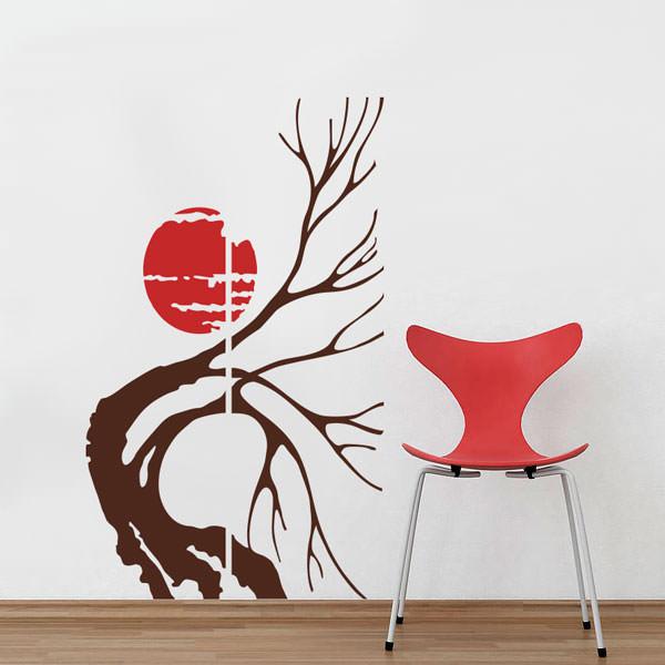 Adesivo de Parede Árvore Seca