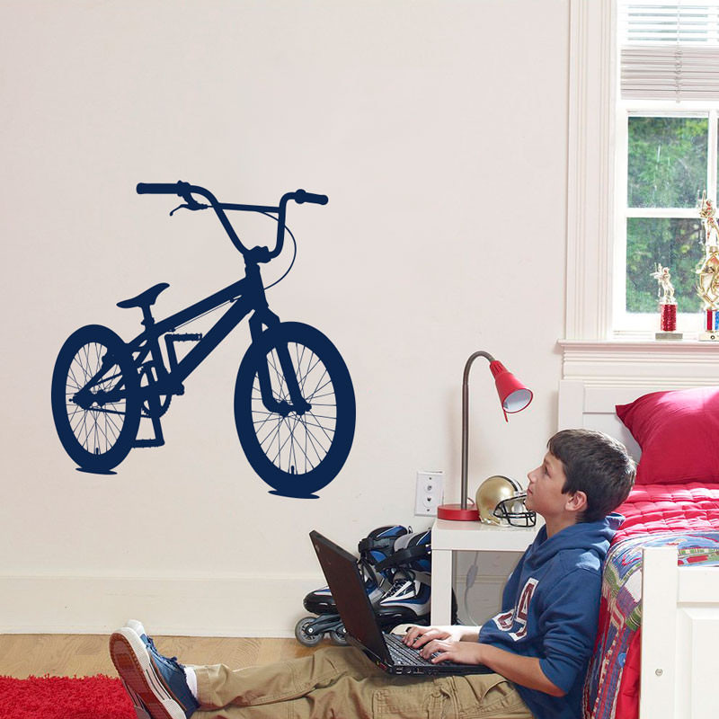 Adesivo Decorativo de Parede Bicicleta