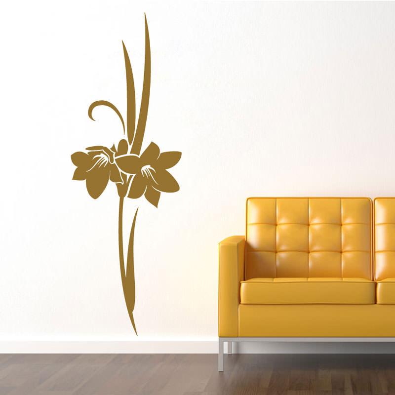 Adesivo Decorativo de Parede Floral Mirtes