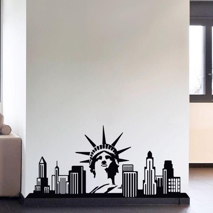 Adesivo Decorativo Nova Iorque