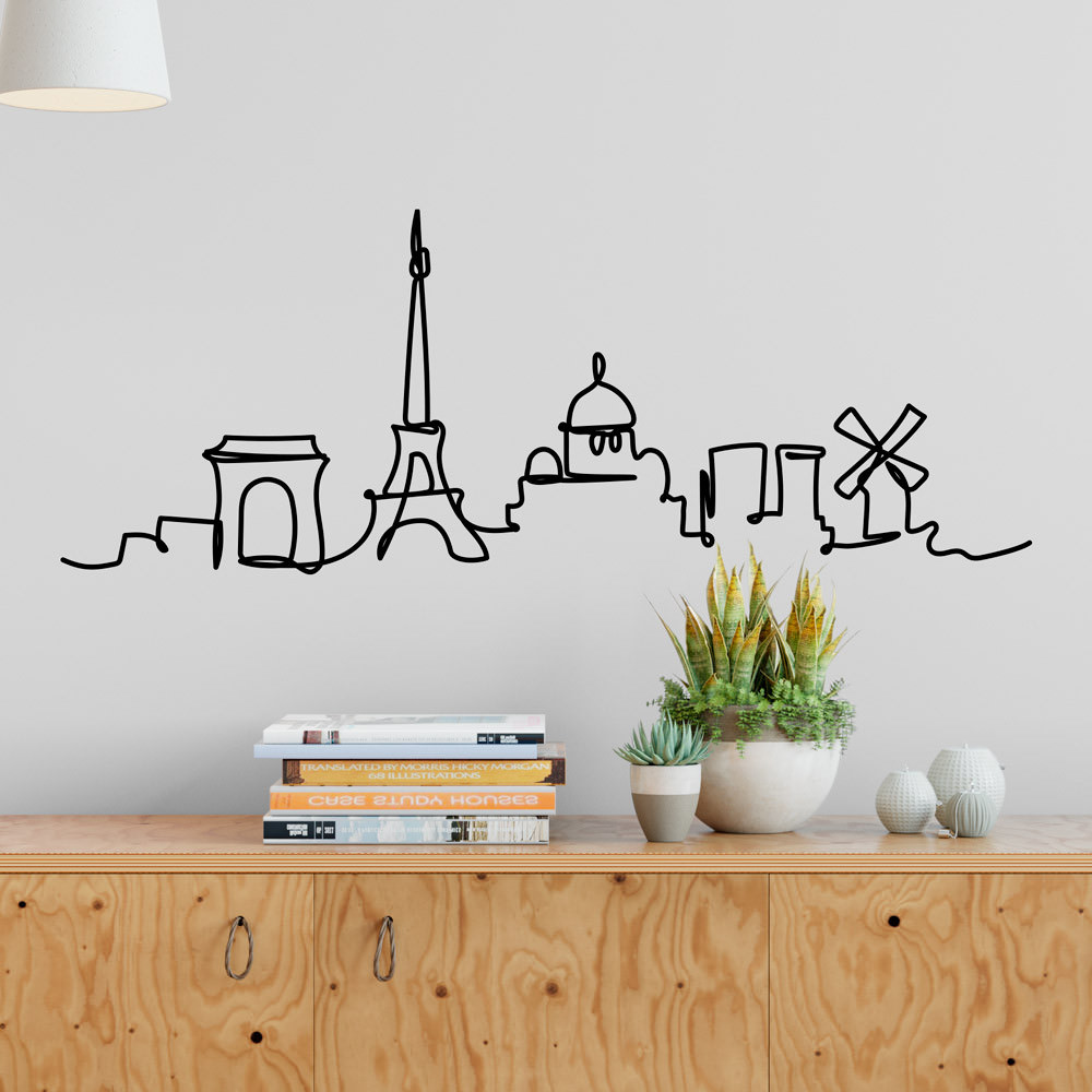 Adesivo de Parede Paris - França