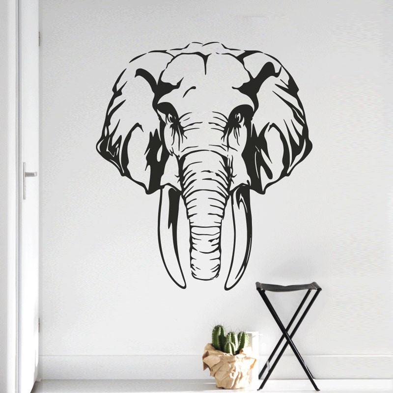 Adesivo Decorativo de Parede Elefante