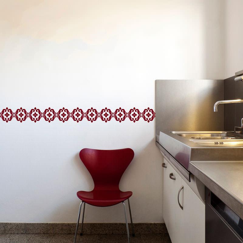 Faixa Decorativa Arabesca