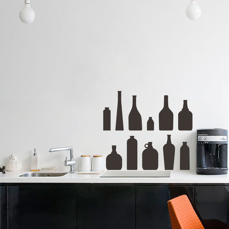 Adesivo Decorativos Jarros de Cozinha