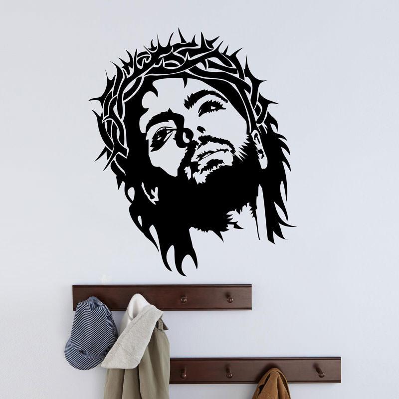Adesivo de Parede Jesus Cristo bemColar Adesivos De Parede