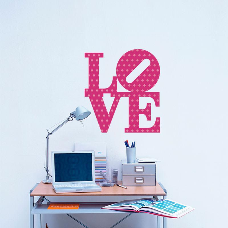 Adesivo de Parede Love II