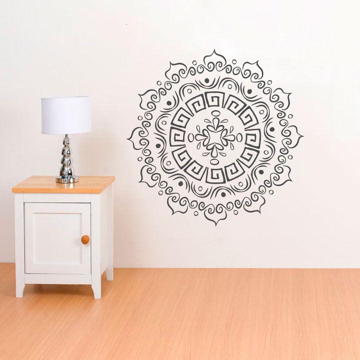 Adesivo Decorativo de Parede Mandala II