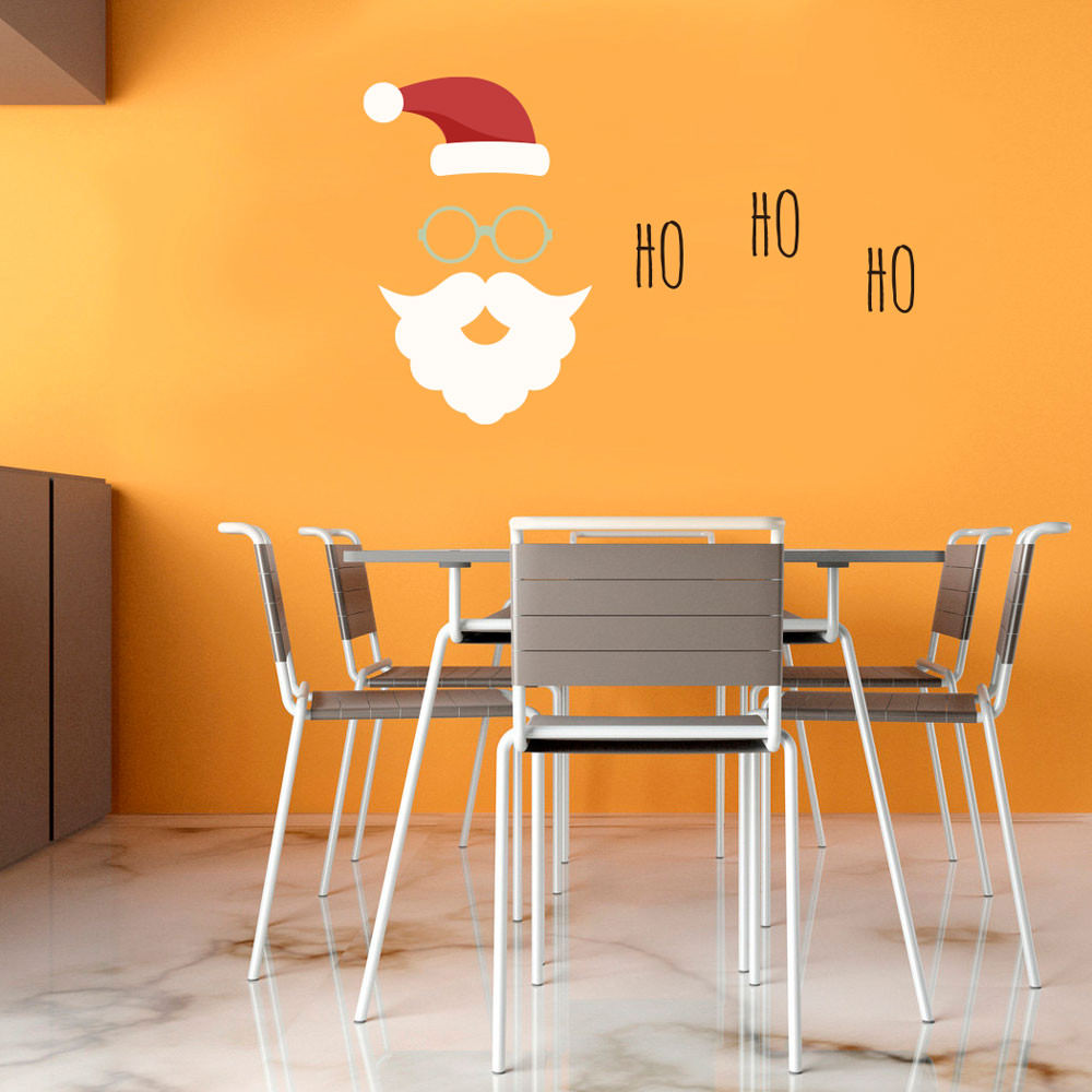 Adesivo Decorativo Natal Ho Ho Ho