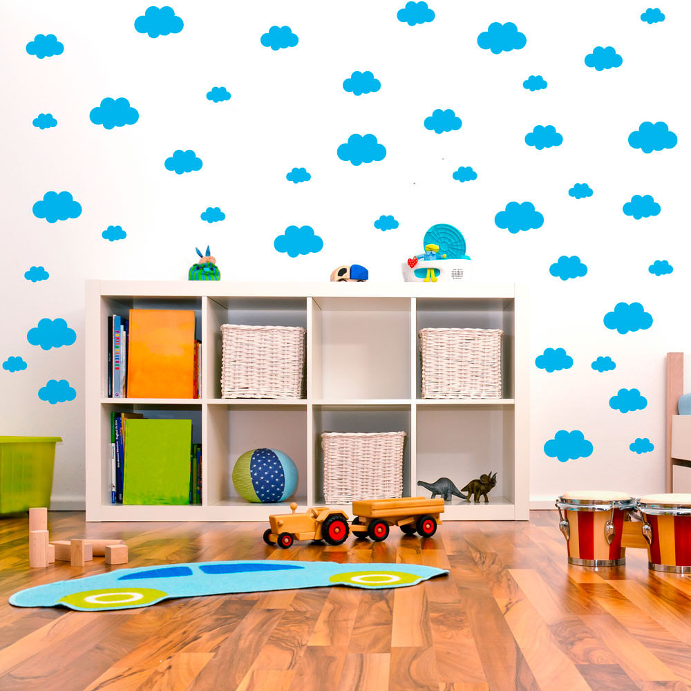 Adesivo Decorativo Nuvens