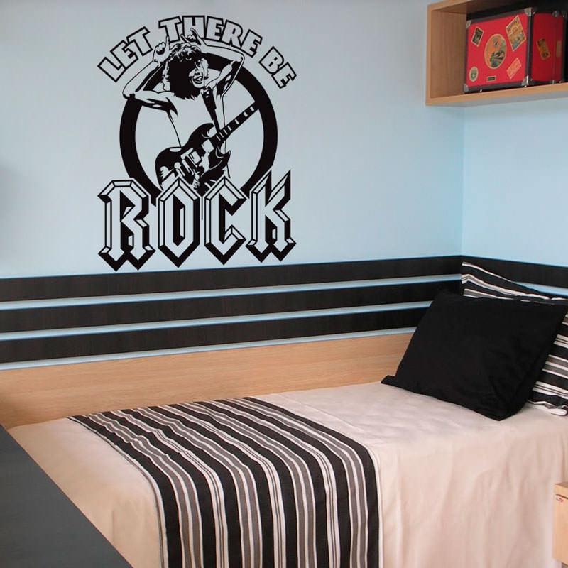 Adesivo Decorativo Rock and roll