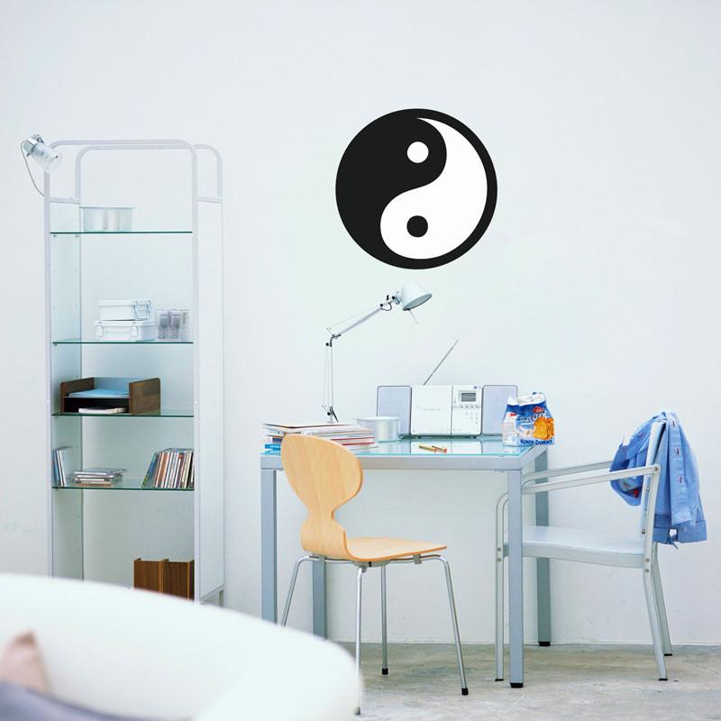 Adesivo de Parede Símbolo Yin Yang