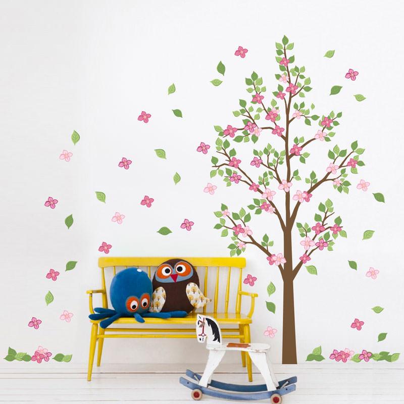 Adesivo de Parede Árvore Colorida