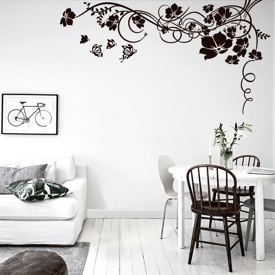 Adesivos De Parede Para Quarto E Sala Redival Com -> Adesivos Decorativos Para Sala De Jantar