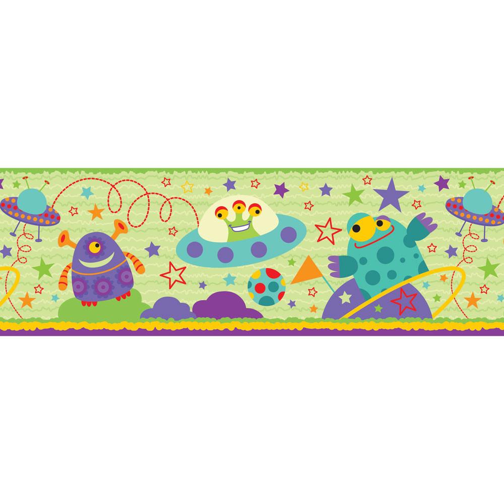 Faixa Decorativa Infantil Alienígenas - Has#Tag